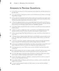 Answers to Review Questions