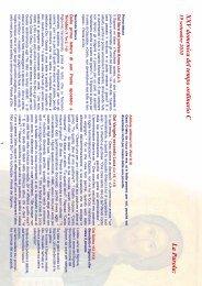XXV domenica del tempo ordinario (C) - Diocesi di Parma