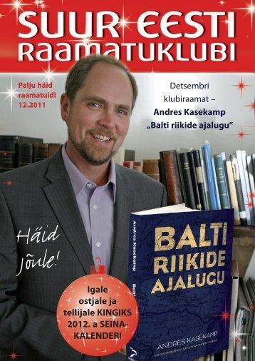 Balti riikide ajalugu - Suur Eesti Raamatuklubi