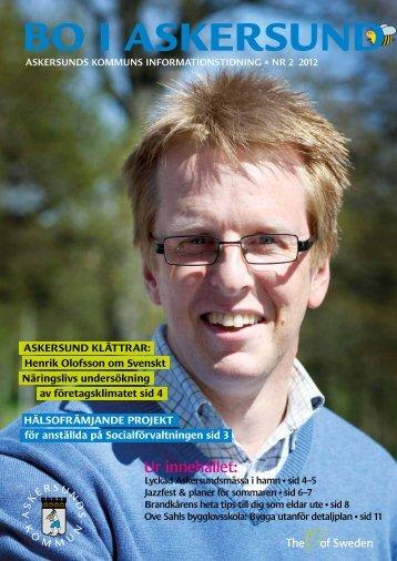 Bo i Askersund nummer 2 2012.pdf - Askersunds kommun
