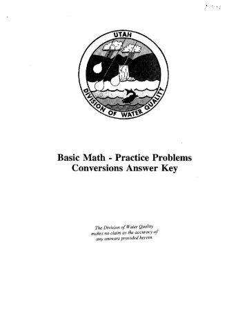 CHM 130 Conversion Practice Problems