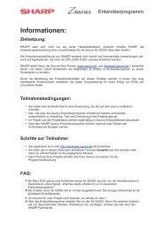 Informationen: Zielsetzung - TRIsoft