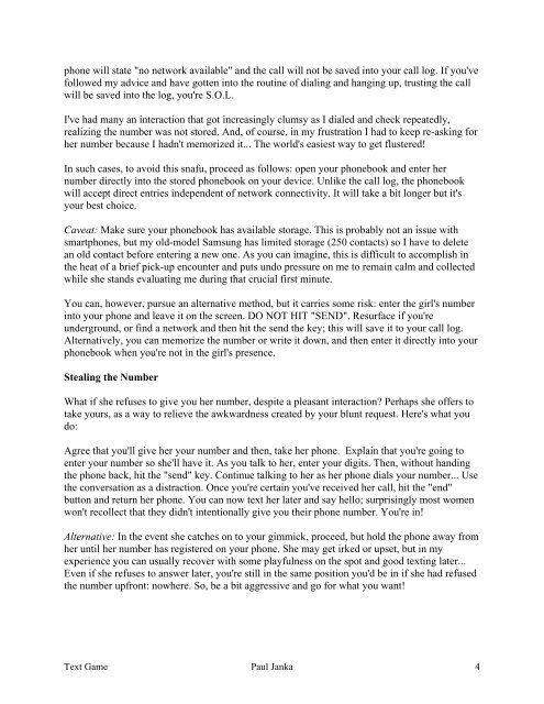 Paul janka attraction formula pdf
