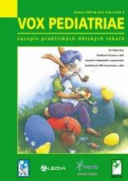 duben 2003 - Dětský lékař