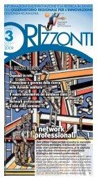 I network professionali I network professionali - Politiche Sanitarie