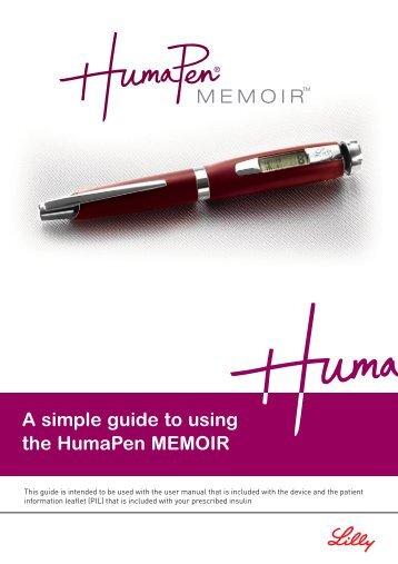 HumaPen Memoir Patient Guide - LillyPro