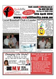 20100413Edition249 - Redcliffe City News