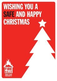 WISHING YOU A SAFE AND HAPPY CHRISTMAS