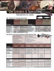 Die Grinders & Specialties: