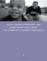 The Community Connections Model - Illinois Action for Children