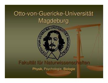PDF-Folien Einführung Tag der offenen Universitätstür 2008