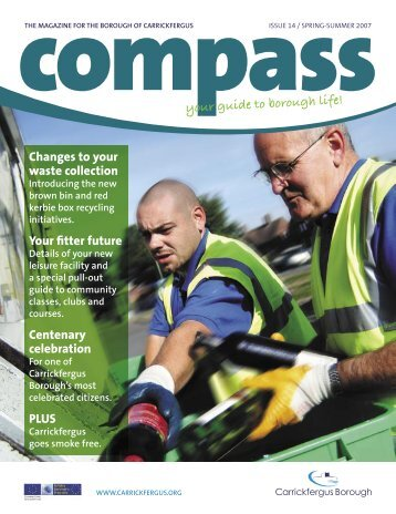 Compass Newsletter - Issue 14 (Spring / Summer 2007)