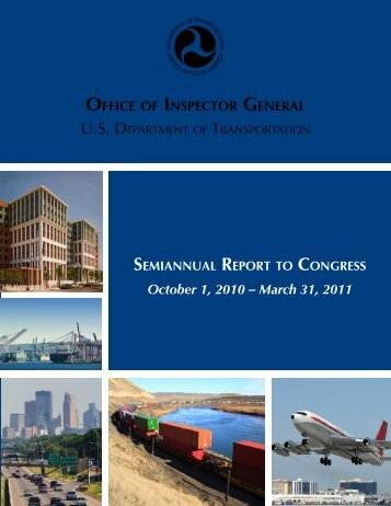 OIG SAR.pdf - Office of Inspector General - U.S. Department of ...