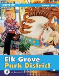 2013 Winter Activity Guide - Part I - Elk Grove Park District, IL