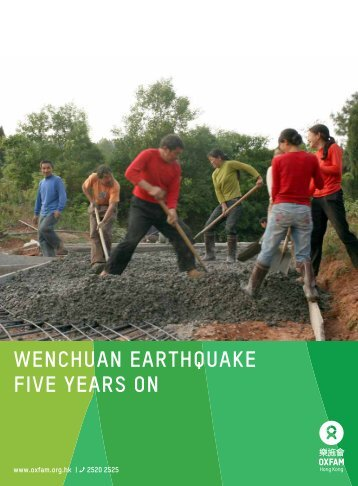 """Download """"Wenchuan Earthquake Five Years On Report"""""""