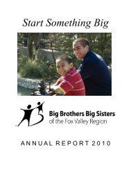 Start Something Big - Big Brothers Big Sisters