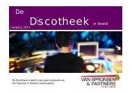 De Discotheek in beeld 2012 - Van Spronsen en Partners