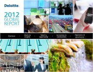 GLOBAL REPORT - Deloitte