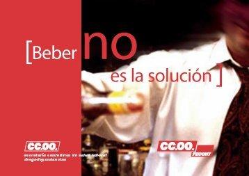 [Beber no es la solución ] - Plan Nacional sobre drogas