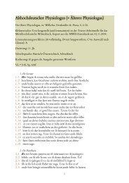 Althochdeutscher Physiologus - Mittelhochdeutsches Wörterbuch