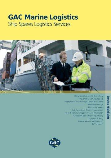 Ship Spares Logistics - GAC