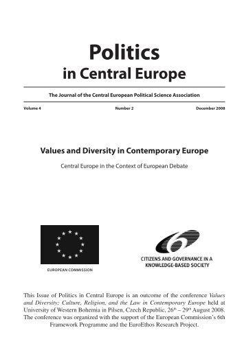 e-shop - Politics in Central Europe