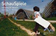 Flyer Ã'Â«SchauSpiele - Zentrum Paul Klee