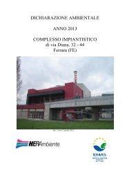 DichAmb Via Diana Ferrara rinnovo 2013 - Herambiente - Il Gruppo ...