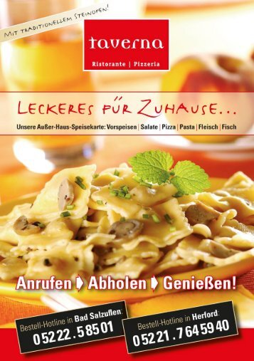 Adobe Photoshop PDF - Pizzeria TAVERNA in Bad Salzuflen und in