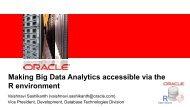 Big Data Analysis using Oracle R Enterprise - NoCOUG