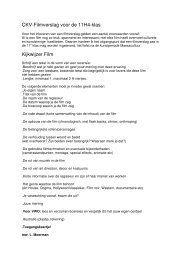 CKV-Filmverslag voor de 11H4-klas Kijkwijzer Film - Rudolf Steiner ...