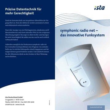 symphonic radio net – das innovative Funksystem
