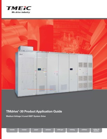 TMdrive®-30 Product Application Guide - Tmeic.com