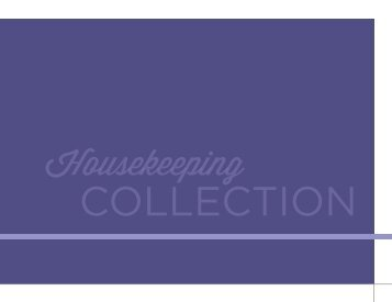 Housekeeping - Main FCL page