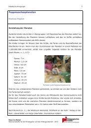 Didaktische Anregungen - Kindergarten und Schule in Südtirol