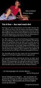 The Joy Of My Life Vorweihnachtliches aus aller Welt ... - Trio A Due - Page 2