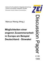 Discussion Paper - Archive of European Integration
