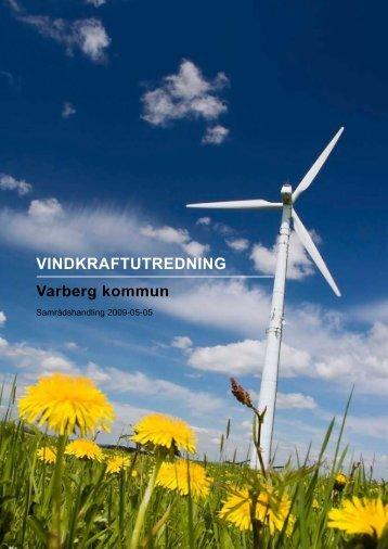 VINDKRAFTUTREDNING Varberg kommun - Varbergs kommun