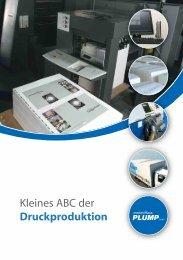 Kleines ABC der Druckproduktion - Medienhaus Plump GmbH