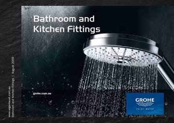 Bathroom and Kitchen Fittings - Argent Australia