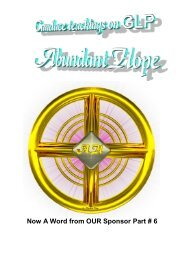 25 - Now A Word from OUR Sponsor - AbundantHope.net