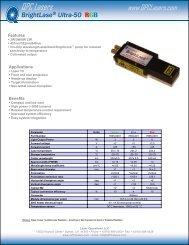 BrightLase® Ultra-50 RGB - AMS Technologies
