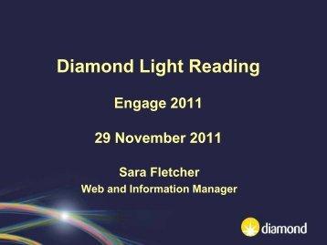 Diamond Light Reading