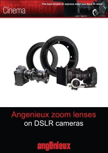 Angenieux zoom lenses