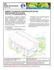 diseño y planos de construcción de una empacadora de plátano