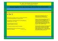 4 für 3 - Dr. Isidor-Hirschfelder-Schullandheim Herongen