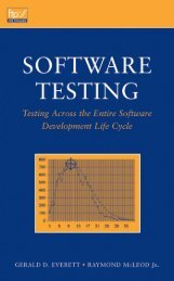 Software Testing - DOC SERVE