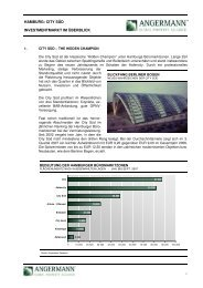 hamburg: city süd investmentmarkt im überblick - IG City Süd