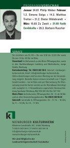 Monatsprogramm Dezember - Nienburger Kulturwerk - Seite 5