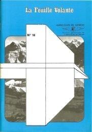 Section gènevoise de I'Aèro—Club de Suisse - Aeroclub de Genève